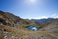 Capra  lake Stock Image