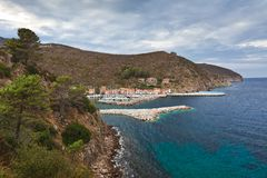 Capraia Island, Italy Royalty Free Stock Photo