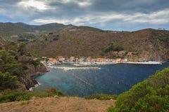 Capraia Island. Stock Photo