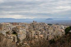Caprarola oude stad in Italië Royalty-vrije Stock Fotografie