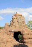 Capre sulle rocce Fotografie Stock Libere da Diritti