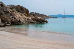 Caprera海岛,撒丁岛,意大利 免版税库存图片