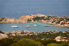 Caprera Island in Sardinia Royalty Free Stock Photos