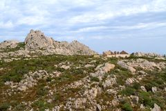 Caprera island, Sardinia, Italy Royalty Free Stock Photos