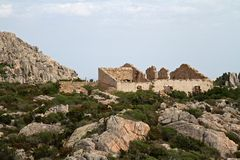 Caprera island, Sardinia, Italy Royalty Free Stock Photography