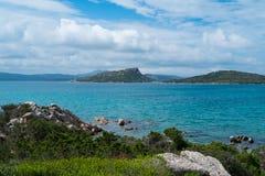 Caprera island, Sardinia, Italy Royalty Free Stock Images