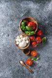 caprese салат ингридиентов Стоковое фото RF