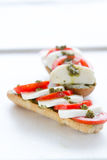 caprese сандвич Стоковое фото RF