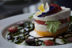 Caprese Appetizer Royalty Free Stock Photo