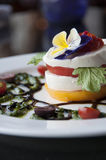 Caprese Appetizer royalty free stock photography
