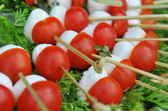 Caprese Appetizer Stock Photography