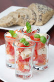 Caprese appetizers Stock Images