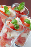 Caprese appetizers Royalty Free Stock Images