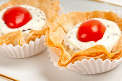 Caprese canape Royalty Free Stock Photo
