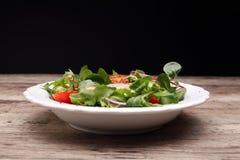 Caprese caprese σαλάτα ιταλική σαλάτα Μεσογειακή σαλάτα Στοκ εικόνα με δικαίωμα ελεύθερης χρήσης