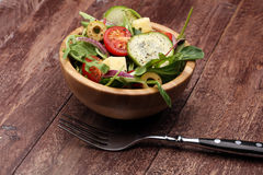 Caprese caprese σαλάτα ιταλική σαλάτα Μεσογειακή σαλάτα Στοκ Εικόνα