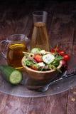 Caprese caprese σαλάτα ιταλική σαλάτα Μεσογειακή σαλάτα Στοκ Εικόνες