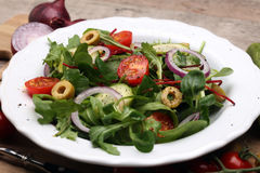 Caprese caprese σαλάτα ιταλική σαλάτα Μεσογειακή σαλάτα Στοκ εικόνες με δικαίωμα ελεύθερης χρήσης