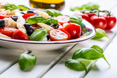 Caprese caprese салат итальянский салат Среднеземноморской салат роскошь уклада жизни превосходной еды кухни carpaccio итальянска Стоковая Фотография RF