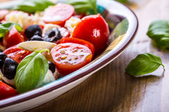 Caprese caprese салат итальянский салат Среднеземноморской салат роскошь уклада жизни превосходной еды кухни carpaccio итальянска Стоковые Фотографии RF