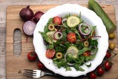 Caprese caprese салат итальянский салат Среднеземноморской салат Стоковое Фото