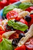 Caprese caprese sallad italiensk sallad Medelhavs- sallad lyx för livsstil för utmärkt mat för carpacciokokkonst italiensk Medelh Royaltyfri Bild