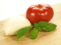 Caprese ingredients Stock Photography