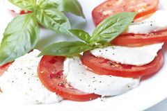 Caprese insalata Stock Photography