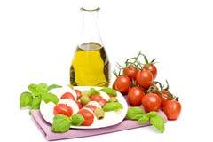Caprese - Italian salad Stock Images