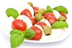 Caprese - Italian salad Royalty Free Stock Photography