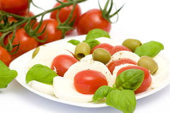 Caprese - Italian salad Royalty Free Stock Photos