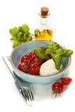 Caprese - Italian salad Stock Photography