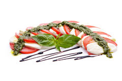 Caprese Italian Salad Stock Images