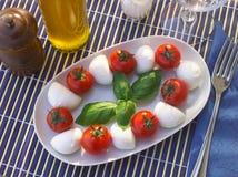 Caprese italiensk maträtt Royaltyfria Foton
