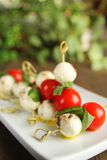 Caprese presentation Stock Photography