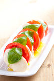 Caprese salad Royalty Free Stock Photography
