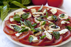 Caprese Salad Stock Photography