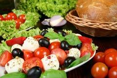 Caprese salad Royalty Free Stock Photos