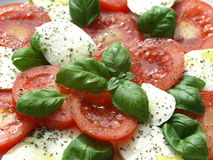 Caprese salad. Royalty Free Stock Photos