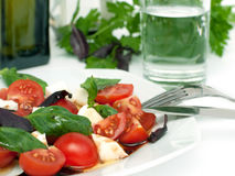 Caprese salad Stock Images