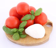Caprese salad ingredients Stock Photo