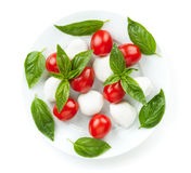 Caprese salad Royalty Free Stock Images
