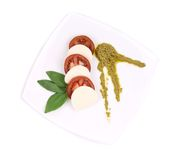 Caprese salad. Stock Photo