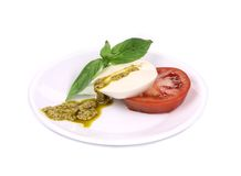 Caprese salad. Royalty Free Stock Images