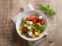 Caprese salad Royalty Free Stock Photo