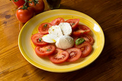 Caprese Salad, italian food Stock Image