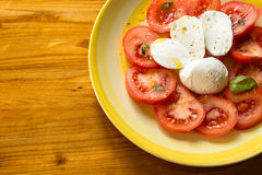 Caprese Salad, italian food Royalty Free Stock Image