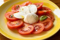 Caprese Salad, italian food Royalty Free Stock Photos