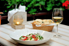 The Caprese salad Royalty Free Stock Photos