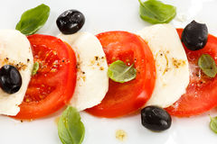 Caprese salad Royalty Free Stock Image